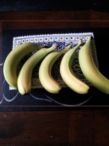 split bananas
