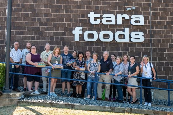 Influencers from UK, Holland and Germany with the Tara Foods Team
