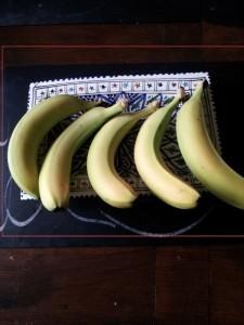 split bananas